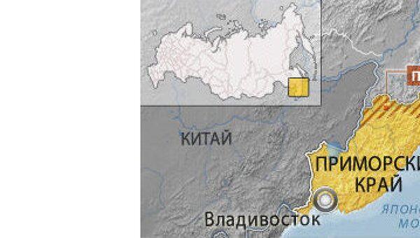 Приморский край. Карта