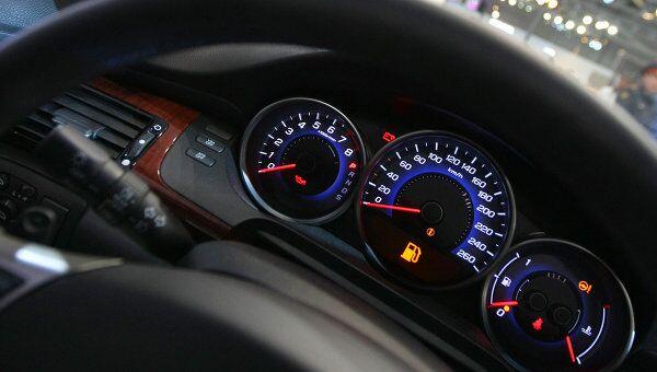 Автомобиль Honda Legend на Московском международном автосалоне