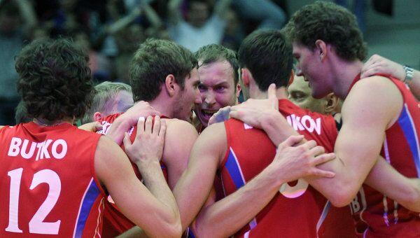 Российские волейболисты. Архив