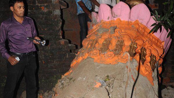 Землетрясение в северо-восточном индийском штате Сикким