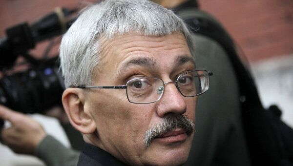 Глава правозащитного центра Мемориал Олег Орлов. Архивное фото