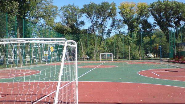 Новая спортивная площадка