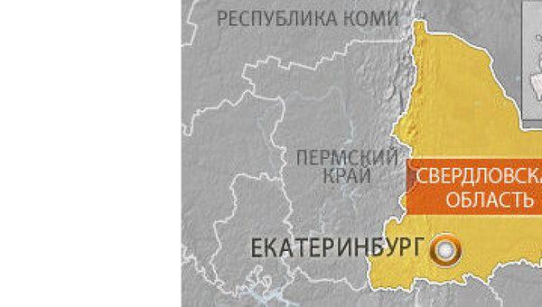 Карта Екатеринбурга