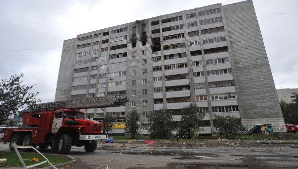 Взрыв газа в многоэтажном жилом доме в Екатеринбурге