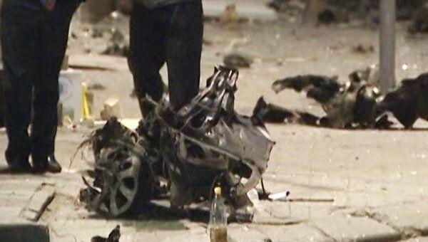 Последствия двойного теракта в Махачкале. Видео с места происшествия