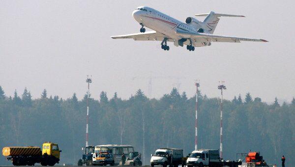 В аэропорту Шереметьево. Архив
