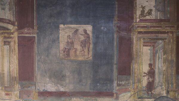 Фрески Помпеи, архивное фото