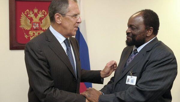 Встречи главы МИД РФ Сергея Лаврова в Нью-Йорке. Архивное фото