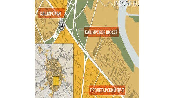 Москва, Каширское шоссе