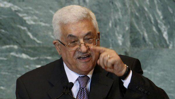 Махмуд Аббас выступает на 66-й сессии Генассамблеи ООН