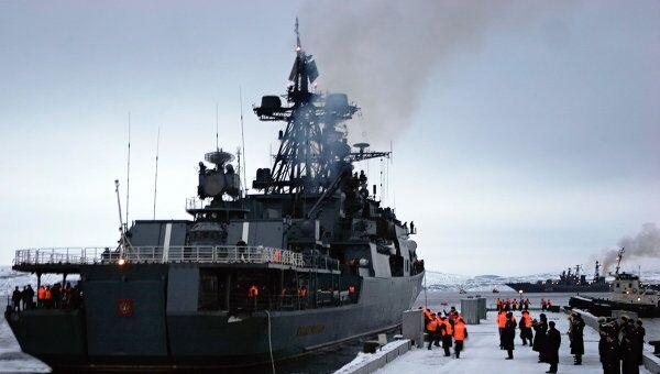 Противолодочный корабль Адмирал Левченко. Архивное фото