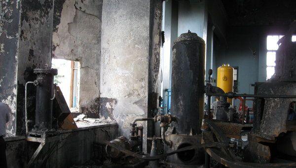 Последствия взрыва на Баксанской ГЭС