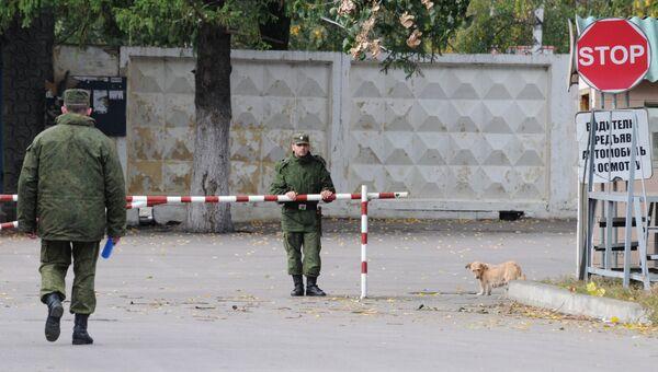 Воинская часть №20115 Острогожского гарнизона Воронежской области