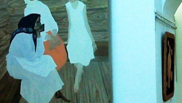 Суровый быт северной деревни на выставке Джанны Тутунджан  в Вологоде