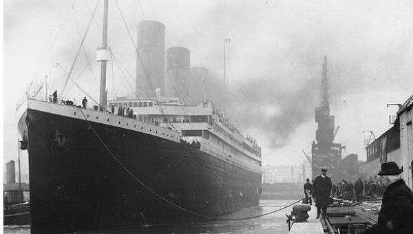 Титаник в доке Саутгемптона