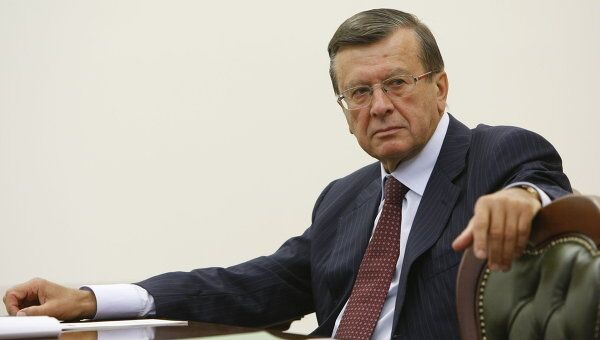 Первый вице-премьер России Виктор Зубков. Архив