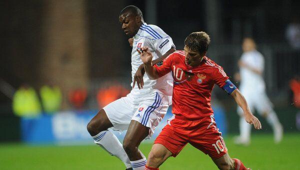 Игоровой момент матча Словакия – Россия
