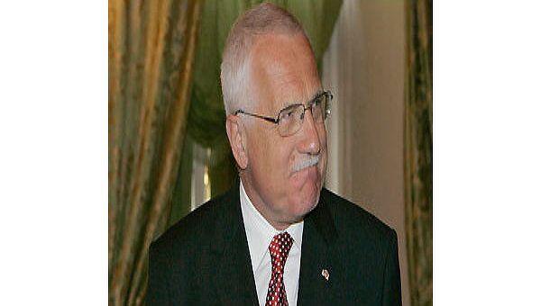 Президент Чехии презентовал в МГУ российское издание своей книги