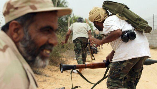 Сторонники ПНС Ливии в боях за город Сирт