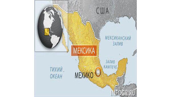 Более 20 человек ранены в столкновении автобуса с грузовиком в Мексике