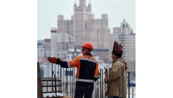 Строительство  в Москве. Архив