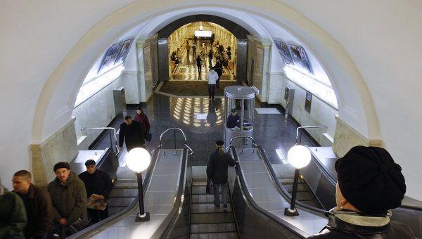 Станция московского метро Электрозаводская. Архив