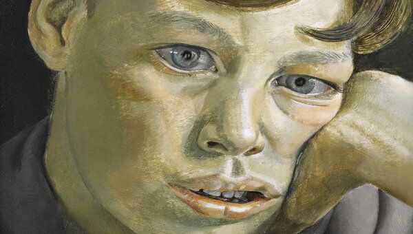 Картина Голова мальчика Люсьена Фрейда