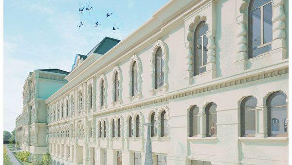 Проект реконструкции Политехнического музея японского архитектора, лауреата Золотого льва Венецианской биеннале Джуньи Ишигами