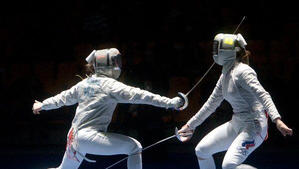 Международный турнир «Московская сабля-2009». Женщины. Личные соревнования
