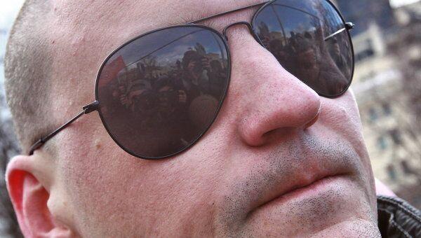 Лидер движения Левый фронт Сергей Удальцов. Архив