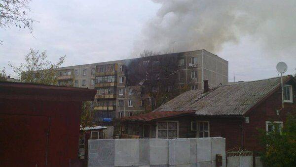 Взрыв бытового газа произошел в жилом доме в подмосковных Бронницах