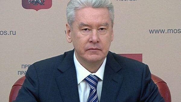 Собянин отчитался перед прессой за год работы мэром Москвы