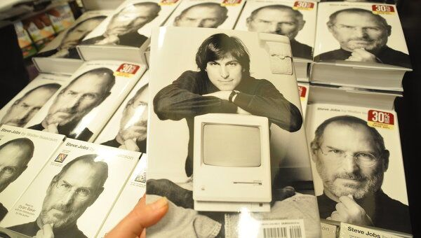 Начало продаж биографии Стива Джобса