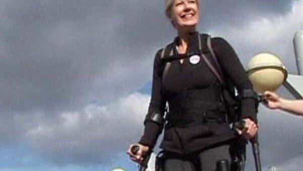 Ученые представили костюм, возвращающий инвалидам подвижность