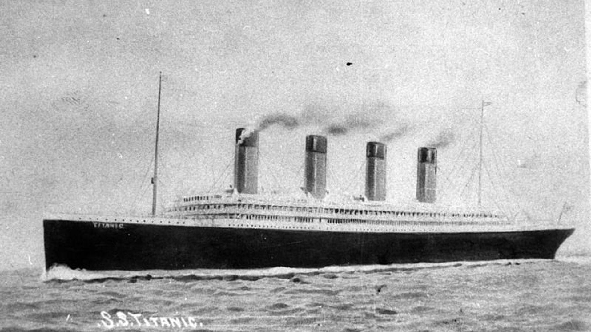 Титаник в искусстве - РИА Новости, 1920, 01.02.2020