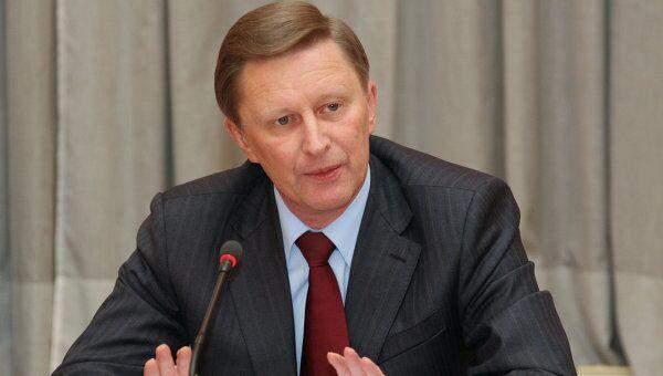 Вице-премьер РФ Сергей Иванов. Архив