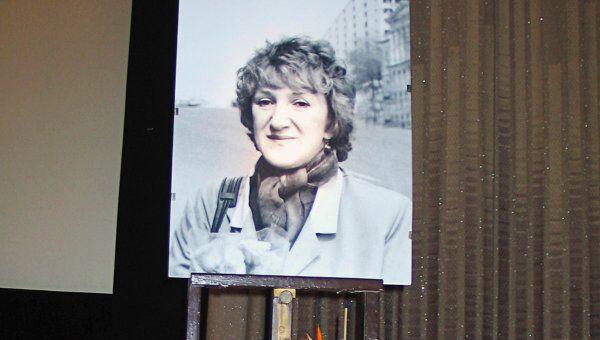 Портрет Галины Старовойтовой. Архивное фото