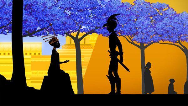 Кадр из мультфильма Сказки на ночь. Режиссер Мишель Осело