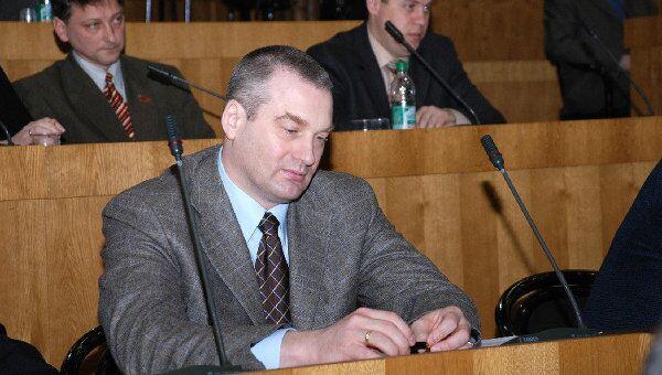 Сын президента Приднестровья Олег Смирнов. Архив