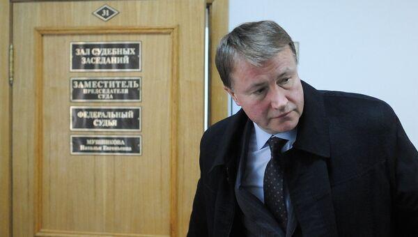 Экс-губернатор Тульской области Вячеслав Дудка