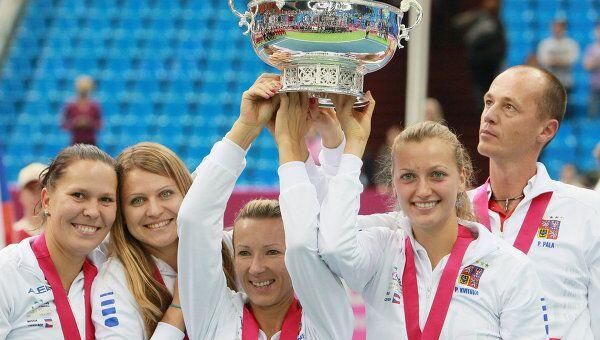 Женская сборная Чехии по теннису