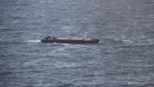 Поиски сухогруза Капитан Кузнецов в Белом море