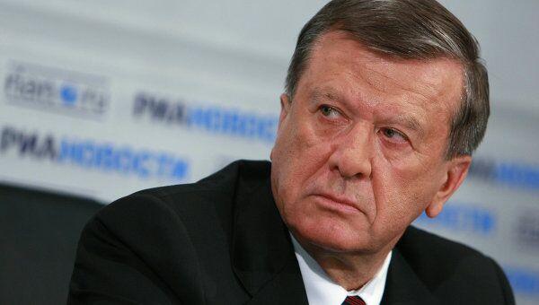 Пресс-конференция первого вице-премьера РФ Виктора Зубкова