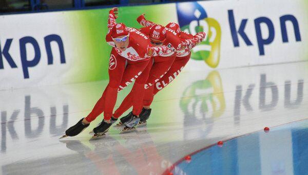 Российские конькобежки