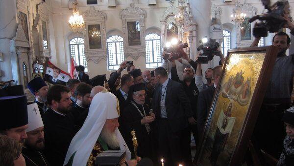 Визит патриарха Московского и всея Руси Кирилла в Сирию и Ливан
