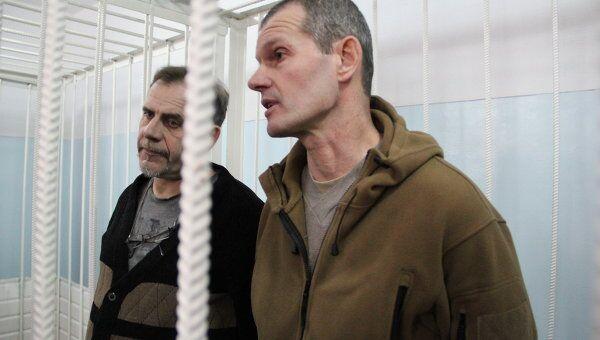 Летчики Владимир Садовничий и Алексей Руденко в ожидании приговора обласного суда Хатлонской области