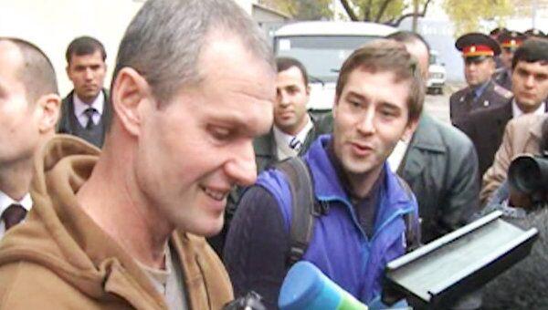 Освобожденный летчик Садовничий рассказал о своем заветном желании
