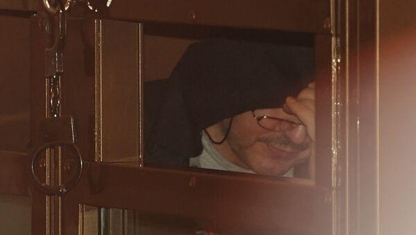 В.Барсуков в суде. Архивное фото