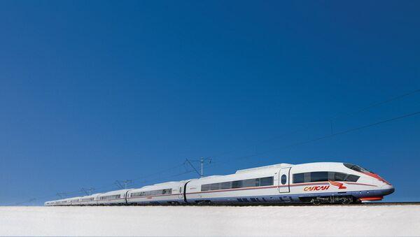 Высокоскоростной поезд Сапсан, архивное фото