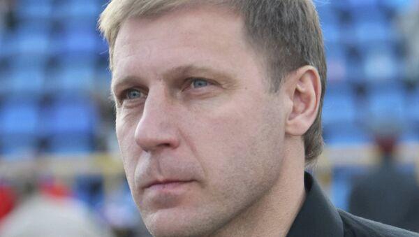 Сергей Передня, главный тренер ФК Томь